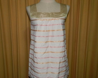 50% On May Sweet Off White Ivory Brocade Top Blouse Bust 32