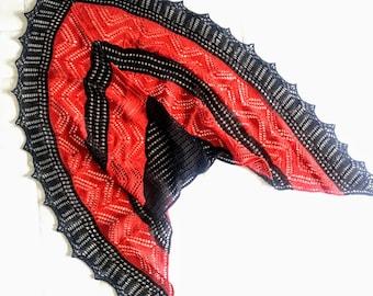 Trendy Handmade Crochet Shawl