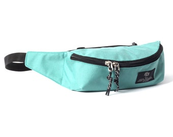 Fanny Pack, Hip Bag, Waist Bag, Travel Bags, Pouches, Hipster, Small Nylon Bag, GO Fanny teal / to order