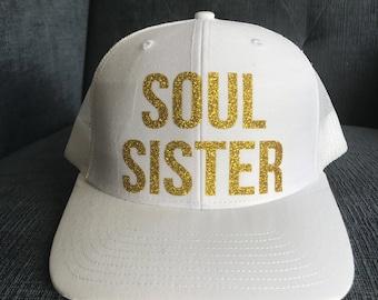 SOUL SISTER mesh back hat