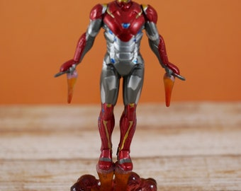 Iron man cake topper Etsy