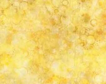 Wilmington Batiks Yellow Bubble Batik 22145-500 from Wilmington Prints by the yard