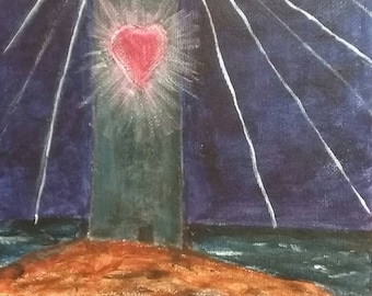 Beacon of Love / Painting
