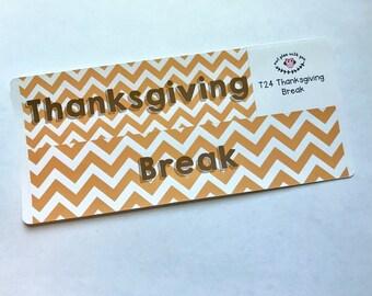 T24 || Thanksgiving Break Full Day Stickers