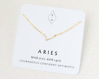 Constellation Necklace | Gold Horoscope Necklace | Zodiac Necklace | Zodiac Gift | Birthday Gift | Astrology Jewelry | Minimalist Necklace
