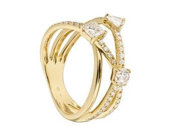 SALE/Love Ring Gelbgold/ Wunderschön