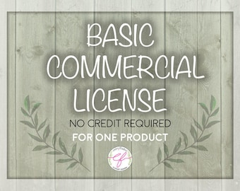 Basic Commercial License (No credit licenses for up to 1000 uses).