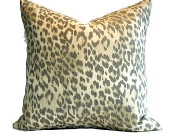 Kravet Pillow Cover Bosana Leopoard