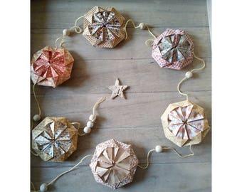 Origami hanging Garland
