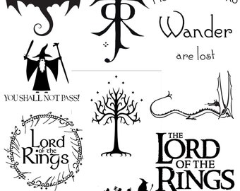 LOTR Lord Of The Rings Decal