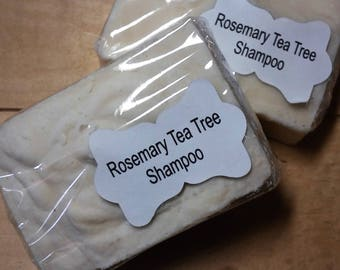Rosemary Tea Tree  Shampoo Bar