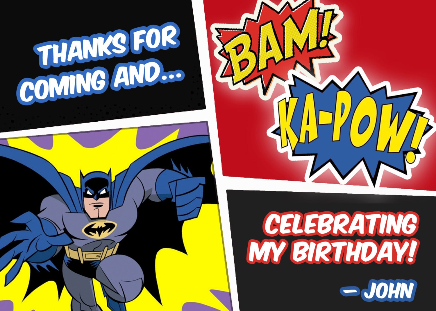 Funky Batman Party Invitations Uk Inspiration Resume Ideas