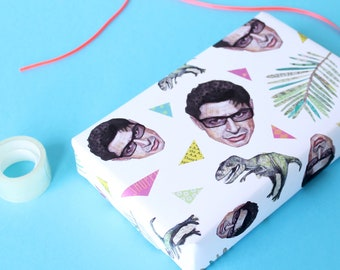 Goldblum Wrapping Paper