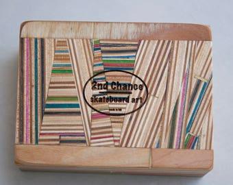 Recycled Skateboard Box