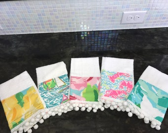 Lilly Pulitzer Kitchen Towel Variety Pack