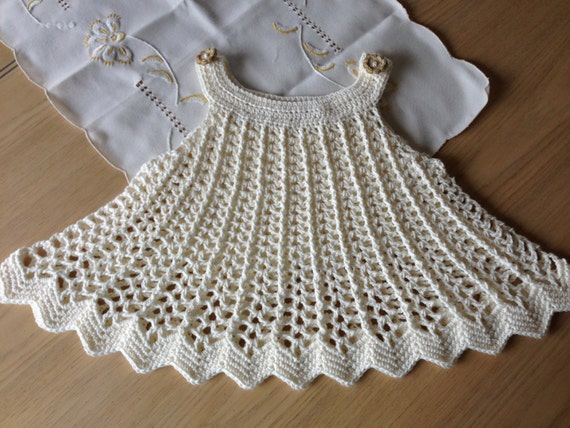 Crochet Pattern For Dress Tunic Top Baby Girl Dress Or Top Swing