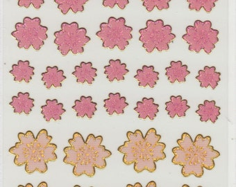 Cherry Blossom Stickers - Hallmark - Reference A3128