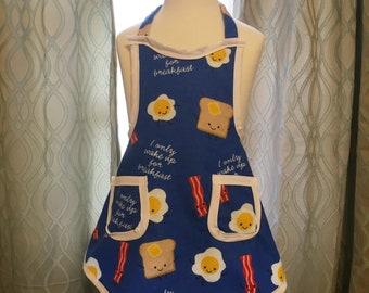 Childrens breakfast aprons