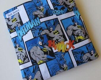 Reusable Eco Friendly Sandwich or Snack Bag Batman