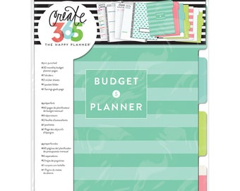 Create 365 Budget Extention Pack / Budget Planner / Me and My Big Ideas / Planne Supplies / Planner Accessories / 2017 Planner