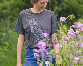 New Duds Artist Series Owl tshirt