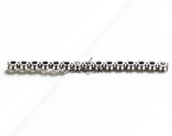 20pcs / Component / Oxidized Silver / Multi Strands / 15 Strands Spacer 46x4mm (YA35947//S40)