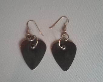 Médiator boucles d'oreilles - Boucles d'oreilles objet trouvé