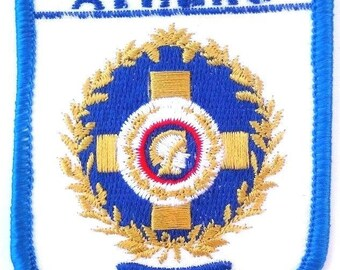 Athens Embroidered Patch