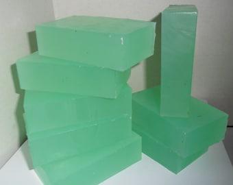 Eucalyptus Soap Loaf  Sulfate Free Base  All Natural    Upick sliced or block