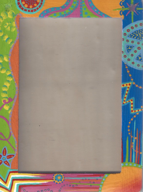 Varios colores Popping diversión Marcos pintado a mano