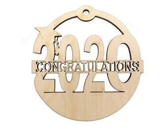 Personalized 2020 Graduation Christmas Ornaments - High School Graduation Ornaments - Personalized College Graduation Ornaments