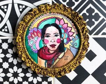 Tibetan woman portrait