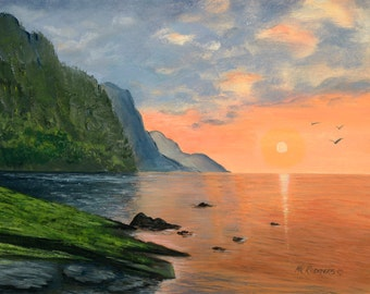 Hawaii 104 Giclee canvas from original acrylic painting