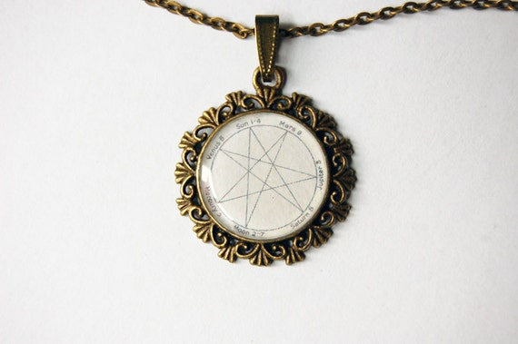 Heptagram cameo heptagram pendant heptagram necklace aloadofball Choice Image