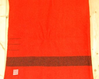 Rare Vintage Early 1930's HUDSON'S BAY BLANKET / 3 Point / Made In England / Retro Collectable Rare