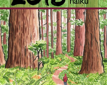 SALE! 2018 calendar of art and haiku by Annette Makino