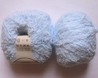 5 balls plush baby blue Gold Peria 06