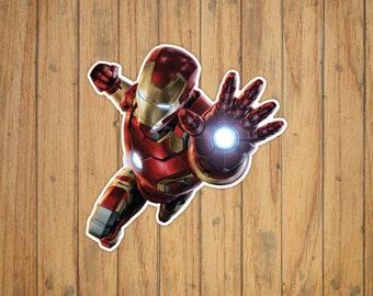 Iron Man [Cinematic Version]  (Marvel) Decal/Sticker