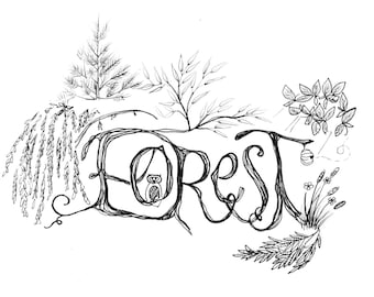 Forest Print