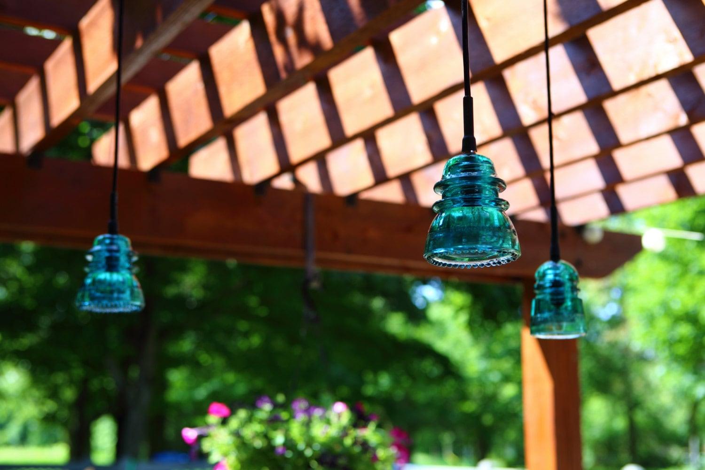 Outdoor Pergola Lights Outdoor insulator pendant lights pergola patio deck zoom workwithnaturefo