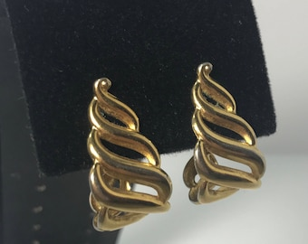 1980's Gold Plated Earrings