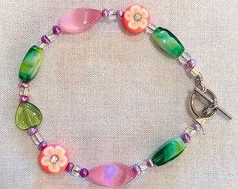 Springtime Flowers Bracelet