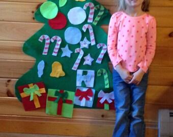 Felt Kids Christmas Tree