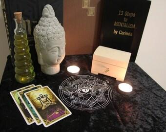 All Seeing Angel Altar Cloth
