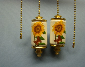 Sunflower Fan & Light ceiling fan pull chain, light pull chain