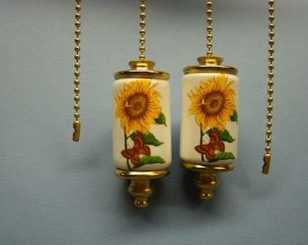 Sunflower Fan & Light ceiling fan pull chain, light pull chain