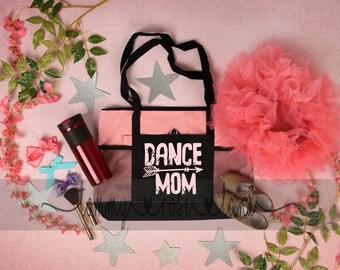 Dance Mom Tote, Personalized Dance Bag, Custom Dance Bag, Dancer Bag, Dance Recital Bag