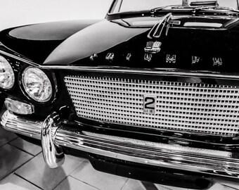 1963 Triumph Vitesse Sports 6 Convertible Car Photography, Automotive, Auto Dealer, Sports Car, Mechanic, Boys Room, Garage, Dealership Art