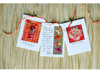 Romantic birthday cards for husband| Happy birthday greetings for girlfriend| Birthday card wishes for sister| Origami birthday card for mom