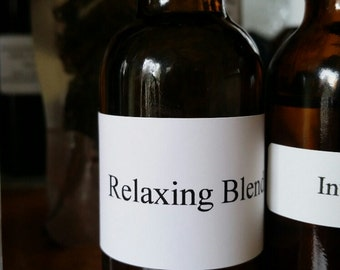 Relaxing Essential Oil Blend with Lavender Clary Sage and Ylang Ylang
